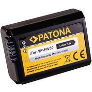 PATONA Sony NP-FW50 950 mAh / 6,8Wh / 7,2 V Li-Ionhoz - Fényképezőgép akkumulátor