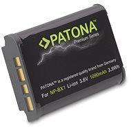 PATONA Sony NP-BX1 1090mAh Li-Ion prémiumhoz - Fényképezőgép akkumulátor