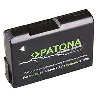 PATONA a Nikon EN-EL14 1100mAh Li-Ion prémiumhoz - Fényképezőgép akkumulátor