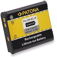 PATONA a Nikon EN-EL19 600mAh Li-Ionhoz - Fényképezőgép akkumulátor