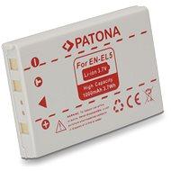 PATONA a Nikon EN-EL5 1000mAh Li-Ionhoz - Fényképezőgép akkumulátor