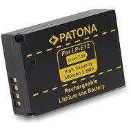 PATONA a Canon LPE12 800mAh Li-Ion készülékhez - Fényképezőgép akkumulátor