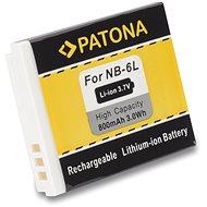 PATONA a Canon NB-6L 800mAh Li-Ion készülékhez - Fényképezőgép akkumulátor