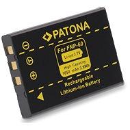 PATONA Fuji NP-60 1050mAh Li-Ionhoz - Fényképezőgép akkumulátor