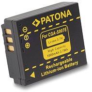 PATONA Panasonic CGA-S007E Li-Ion 1000mAh Li-Ion - Fényképezőgép akkumulátor