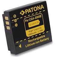 PATONA a Panasonic CGA-S005 1000mAh Li-Ionhoz - Fényképezőgép akkumulátor