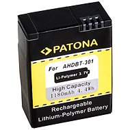 PATONA a GoPro HD Hero számára 3 1180 mAh Li-Pol - Fényképezőgép akkumulátor