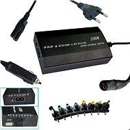 PATONA laptophoz/ 100W 240V-on/ 12V-24V/ USB/ 8 csatlakozó/ univerzális/ hálózati és autós - Adapter