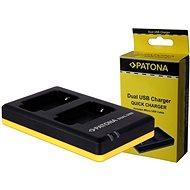 PATONA  Foto Dual Quick Panasonic DMW-BLF19 - Töltő