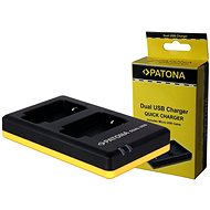 PATONA Photo Dual Quick Sony NP-FM500H - Akkumulátortöltő
