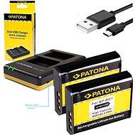PATONA Foto Dual Quick Sony NP-BG1 + 2x 960mAh akkumulátor - Akkumulátortöltő