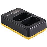 PATONA Foto Dual LCD Sony NP-FZ100, USB - Akkumulátortöltő