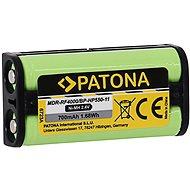 PATONA fejhallgató akkumulátor Sony BP-HP550-11 700mAh Ni-Mh 2.4V MDR-RF4000 - Akkumulátor
