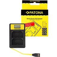 PATONA Dual Sony NP-FZ100 LCD készülékhez, USB, LCD - Akkumulátortöltő
