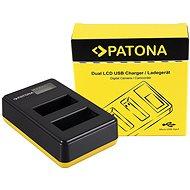Akkumulátortöltő PATONA - Foto Dual LCD Canon LP-E17,USB