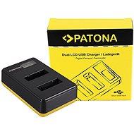PATONA pro Foto Dual LCD Sony NP-BX1,USB - Akkumulátortöltő