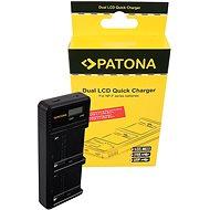 PATONA - Foto Dual LCD Sony F550/F750/F970 - USB - Akkumulátortöltő