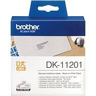 BROTHER DK-11201 etikett - Papír címke