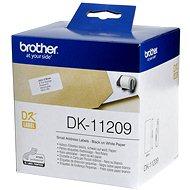 Brother DK-11209 Papírcímke - Papír címke