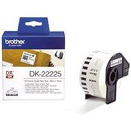 Brother DK 22225 - Papír címke