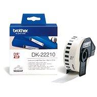 Brother DK 22210 - Papír címke