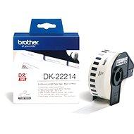 Brother DK 22214 - Papír címke