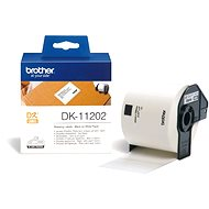 Brother DK 11202 - Papírcímke