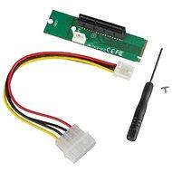 ANPIX átalakdító az NGFF M2 (M kulcs) és a PCI-E 4x között