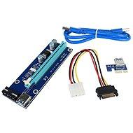 PCIe x16 PCIe x1 (PCIe kiemelő) átalakító - Átalakító