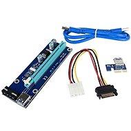 ANPIX ver009s kiemelő (MOLEX verzió) PCIe x1 PCIe x16-hoz