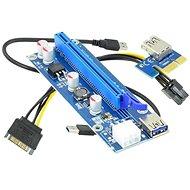 ANPIX ver009s kiemelő (PCIE verzió) PCIe x1 - PCIe x16 - Tartó