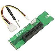 UNIBOS M.2 és PCIe x1 felszálló - Tartó