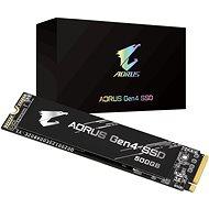 GIGABYTE AORUS Gen 4 SSD 500GB - SSD meghajtó