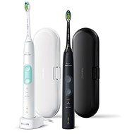 Elektromos fogkefe Philips Sonicare ProtectiveClean Gum Health Black and White HX6857/35 - Elektrický zubní kartáček