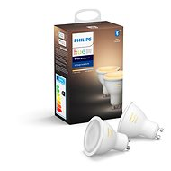 Philips Hue White Ambiance 5.5W GU10 szett, 2 db - LED izzó