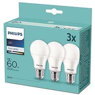 Philips LED 9-60W, E27, 4000K, 3 db - LED izzó