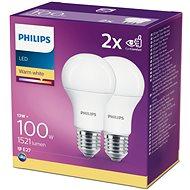 Philips LED 13-100W, E27 2700K, 2 db - LED izzó