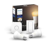 Philips Hue White Ambiance 8.5W E27 promo indítókészlet - LED izzó
