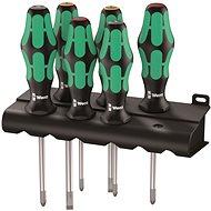 WERA 335/350/355/6 Lasertip Rack, 6 db-os készlet - Csavarhúzó