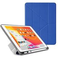 """Pipetto Origami Pencil Case tok Apple iPad 10.2"""" (2019) készülékhez, királykék - Tablet tok"""