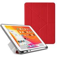 """Pipetto Origami Pencil Case tok Apple iPad 10.2"""" (2019) készülékhez, piros - Tablet tok"""