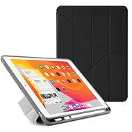"""Pipetto Origami Pencil Case tok Apple iPad 10.2"""" (2019) készülékhez, fekete - Tablet tok"""