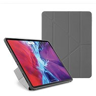 """Pipetto Origami Case Apple iPad Pro 12,9"""" készülékre (2020)  - szürke - Tablet tok"""