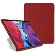 """Pipetto Origami Case Apple iPad Pro 12""""(2020) készülékre - piros - Tablet tok"""
