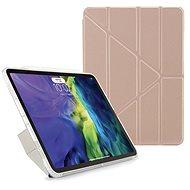 """Pipetto Metallic Origami Apple iPad Air 10.9"""" (2020) készülékhez - rózsaszín-arany - Tablet tok"""