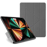 "Pipetto Origami TPU tok Apple iPad Pro 12,9"" (2021/2020/2018) tablethez - szürke - Tablet tok"