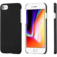 Pitaka Aramid case Black/Grey iPhone 7/8/SE 2020 - Mobiltelefon hátlap