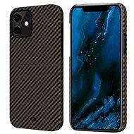 Pitaka MagEZ Black/Gold iPhone 12 mini - Mobiltelefon hátlap
