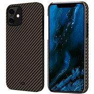 Pitaka MagEZ Black/Gold iPhone 12 - Mobiltelefon hátlap