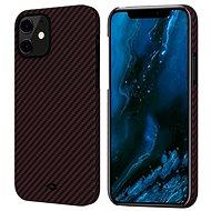 Pitaka MagEZ Black/Red iPhone 12 - Mobiltelefon hátlap